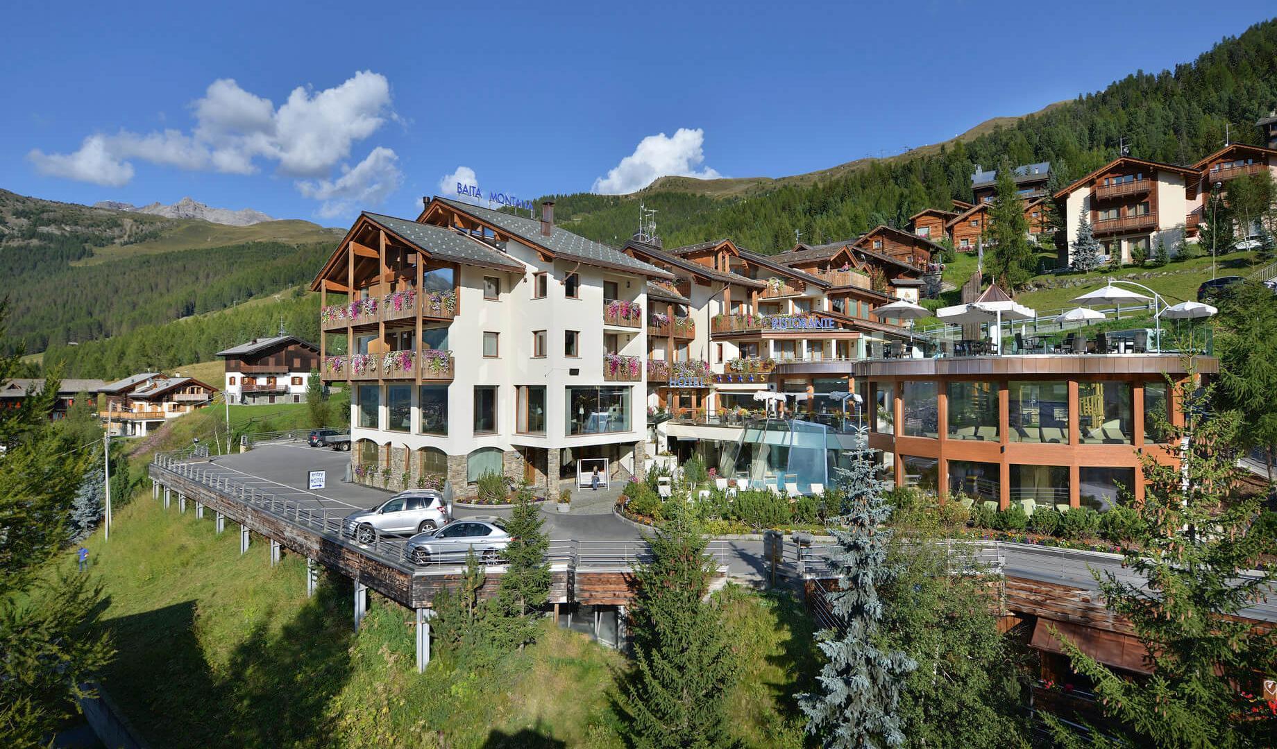 Hotel Baita Montana a Livigno - estate 2021
